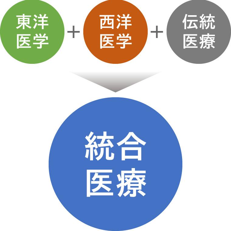 統合医療イメージ図