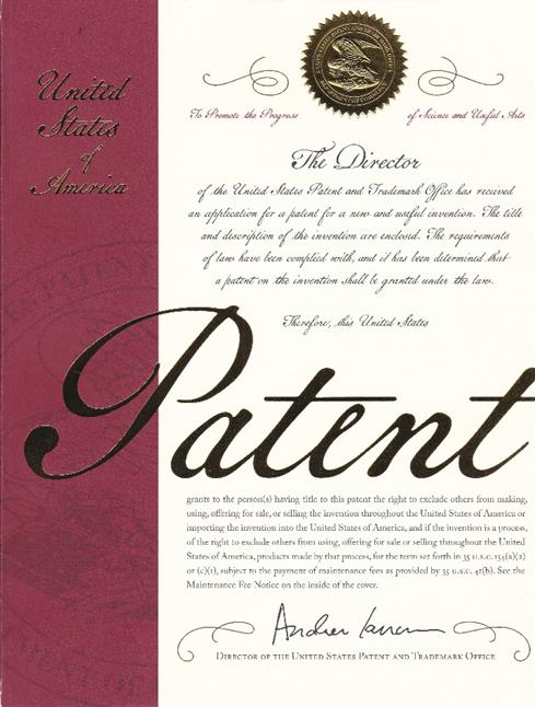 特許状表紙1